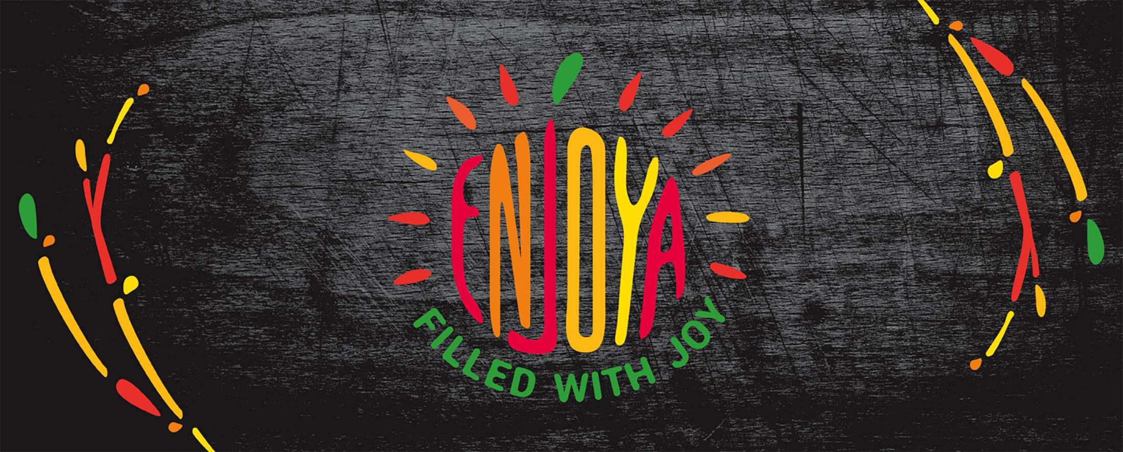 Enjoya - corporate identity