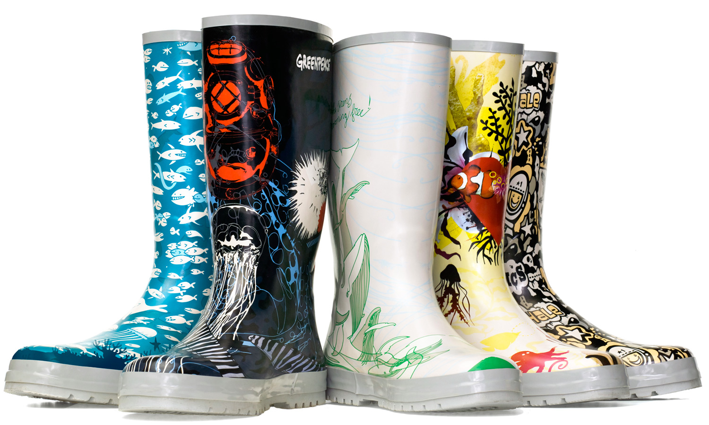 "Greenpeace ""Fish Mates"" - boots"