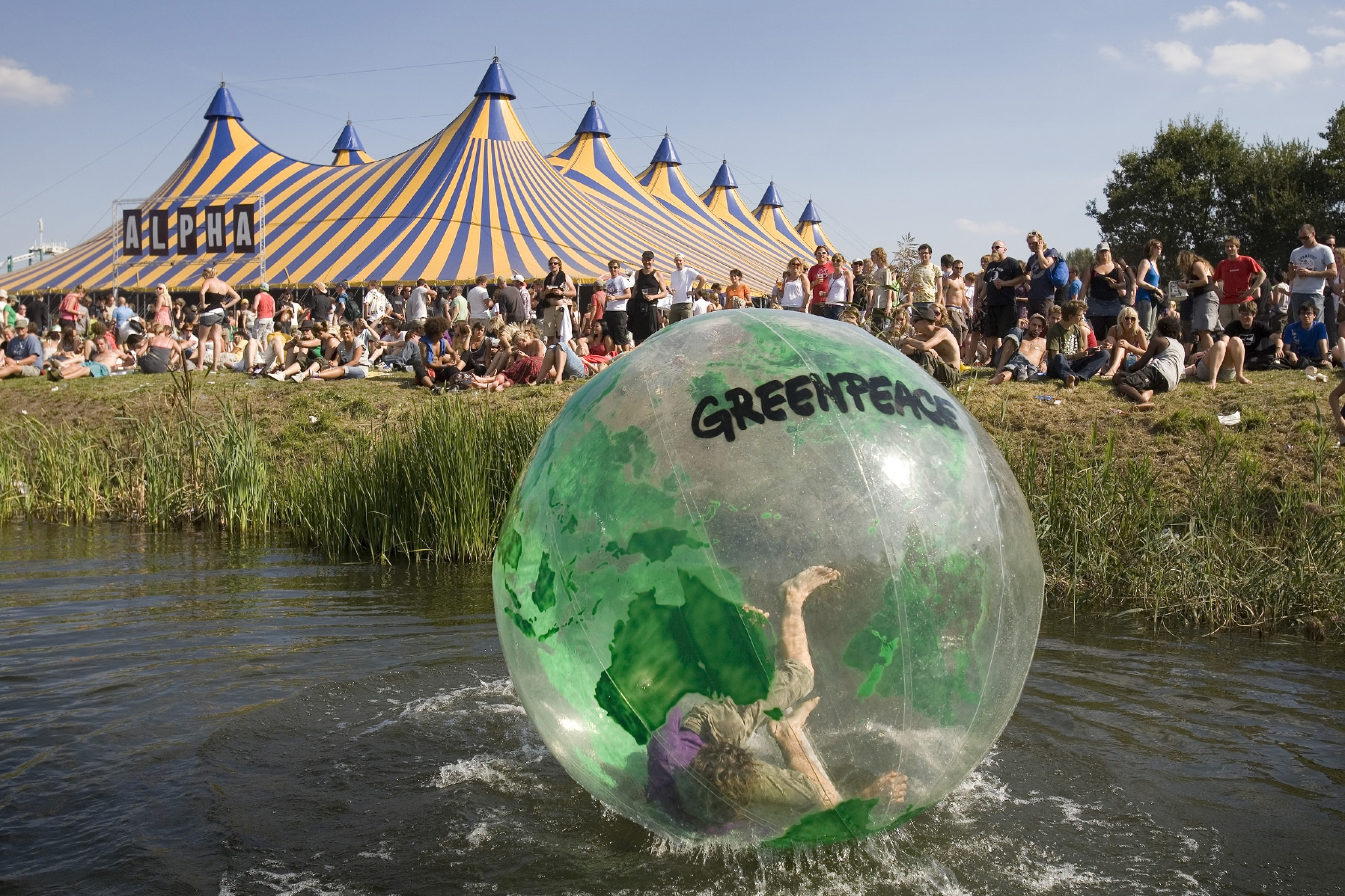 "Greenpeace ""You Turn the Earth"" - inflatable"